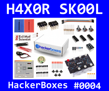 HackerBoxes 0004: Three Fives Replica and 555 Timer Experiments
