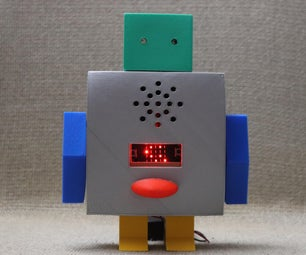 Microbit Talking Robot