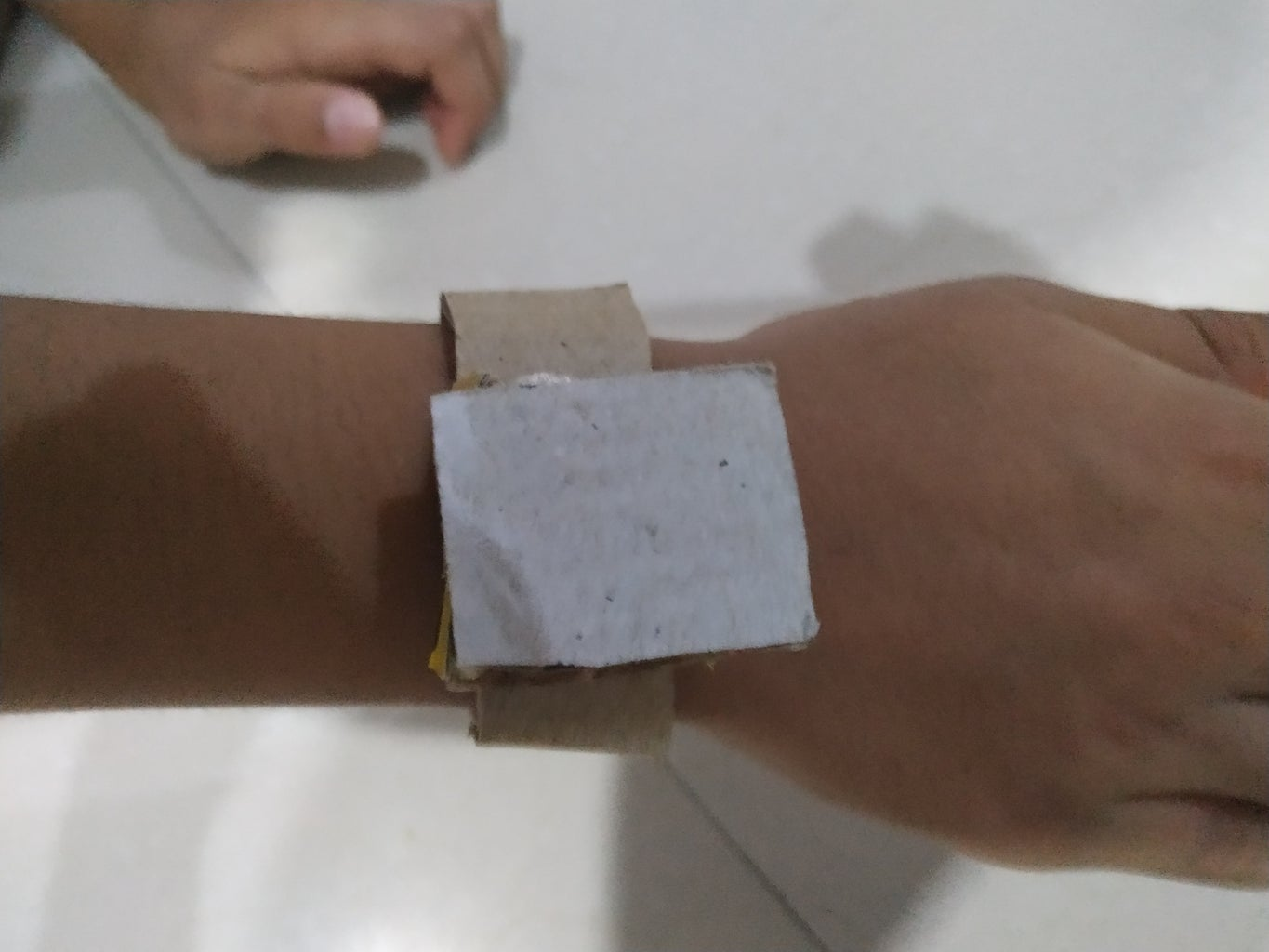 Position of Watch to Stick on Strap