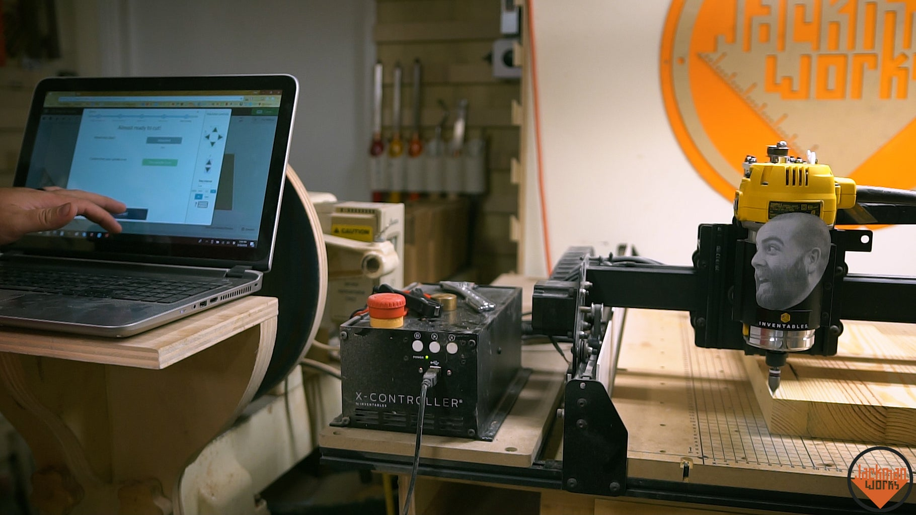 Booting Up the CNC (X-Carve)