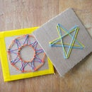 String Art With Paperclips