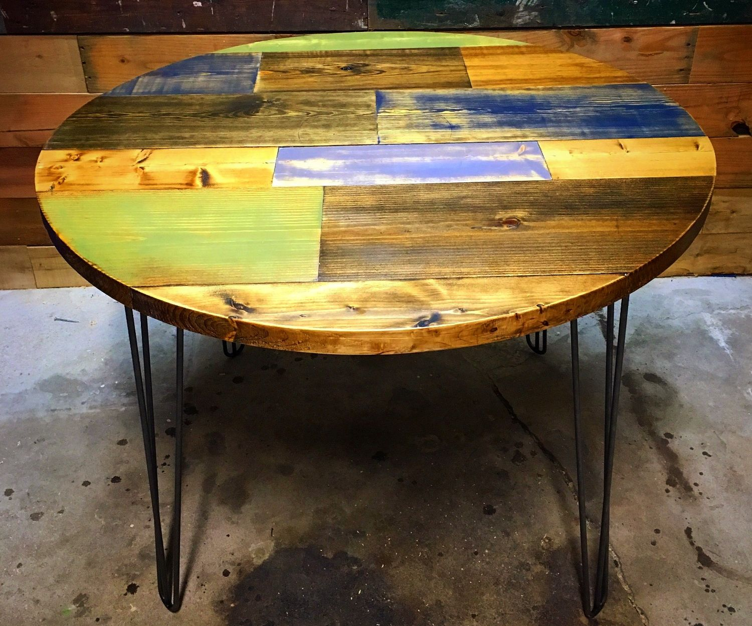 """Round Top """"Timothy"""" Table"""