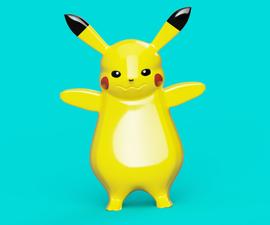 Pikachu Sculpting Using Fusion 360