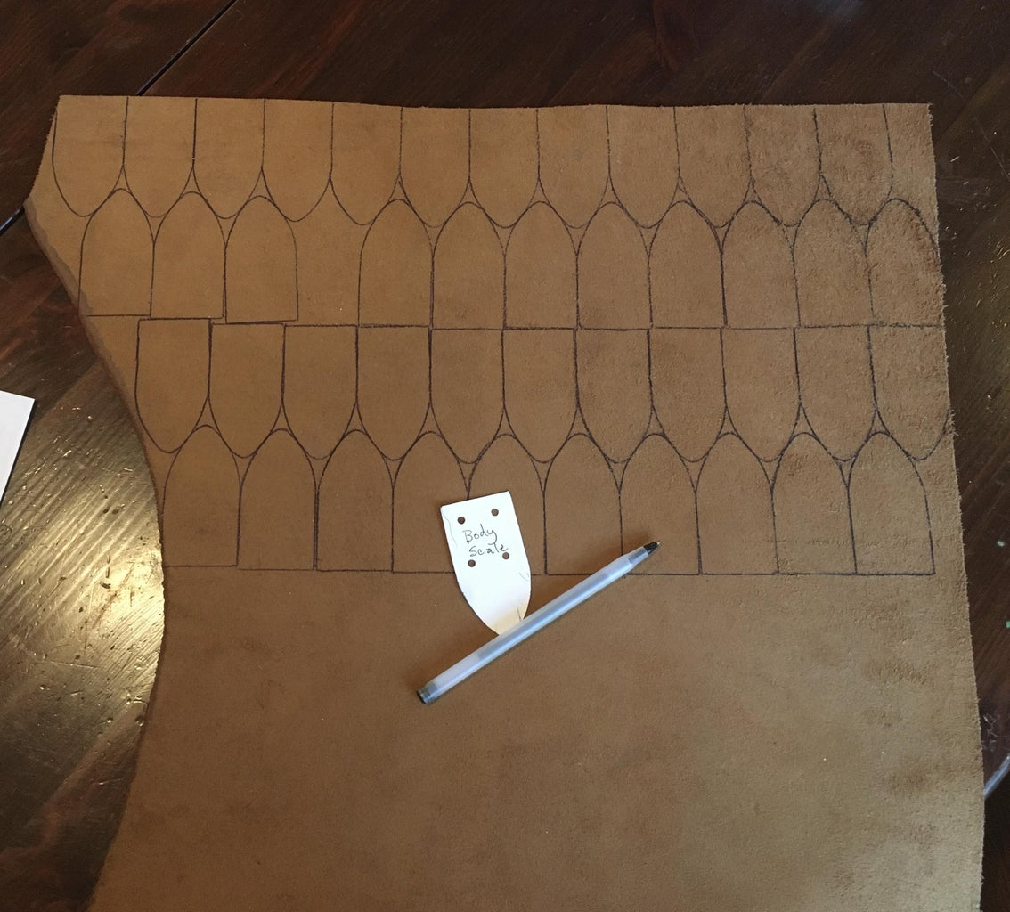 Drawing Up the Pattern