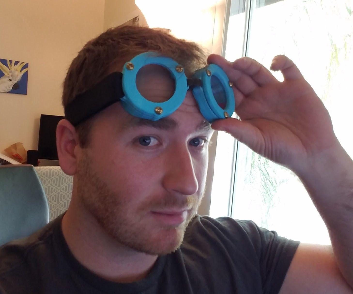Prescription 3D Printed Steampunk Goggles