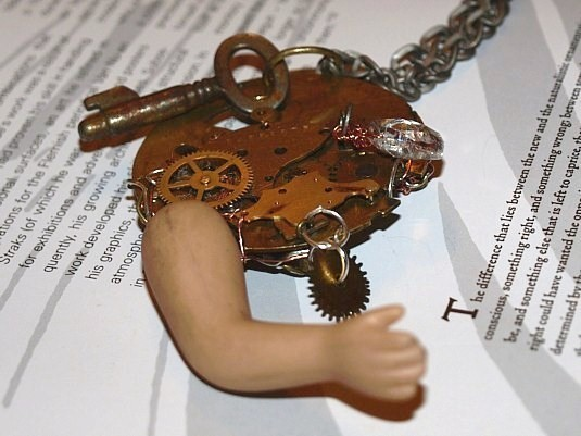 Avant Garde Dolly Assemblage Necklace