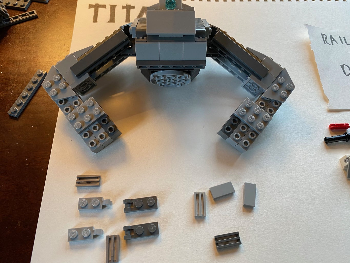 Build the Rail Gun and Add Details to the Hands