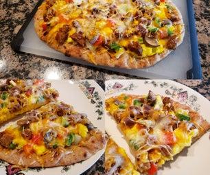 Easy Breakfast Pizza