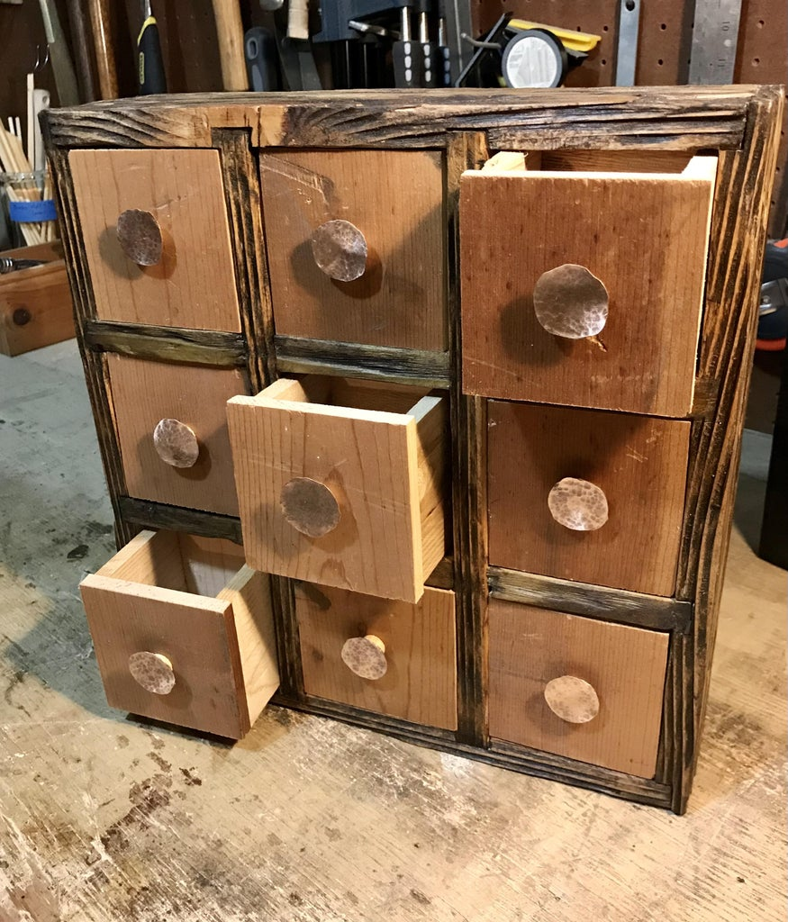 Build an Apothecary Cabinet From Scrap