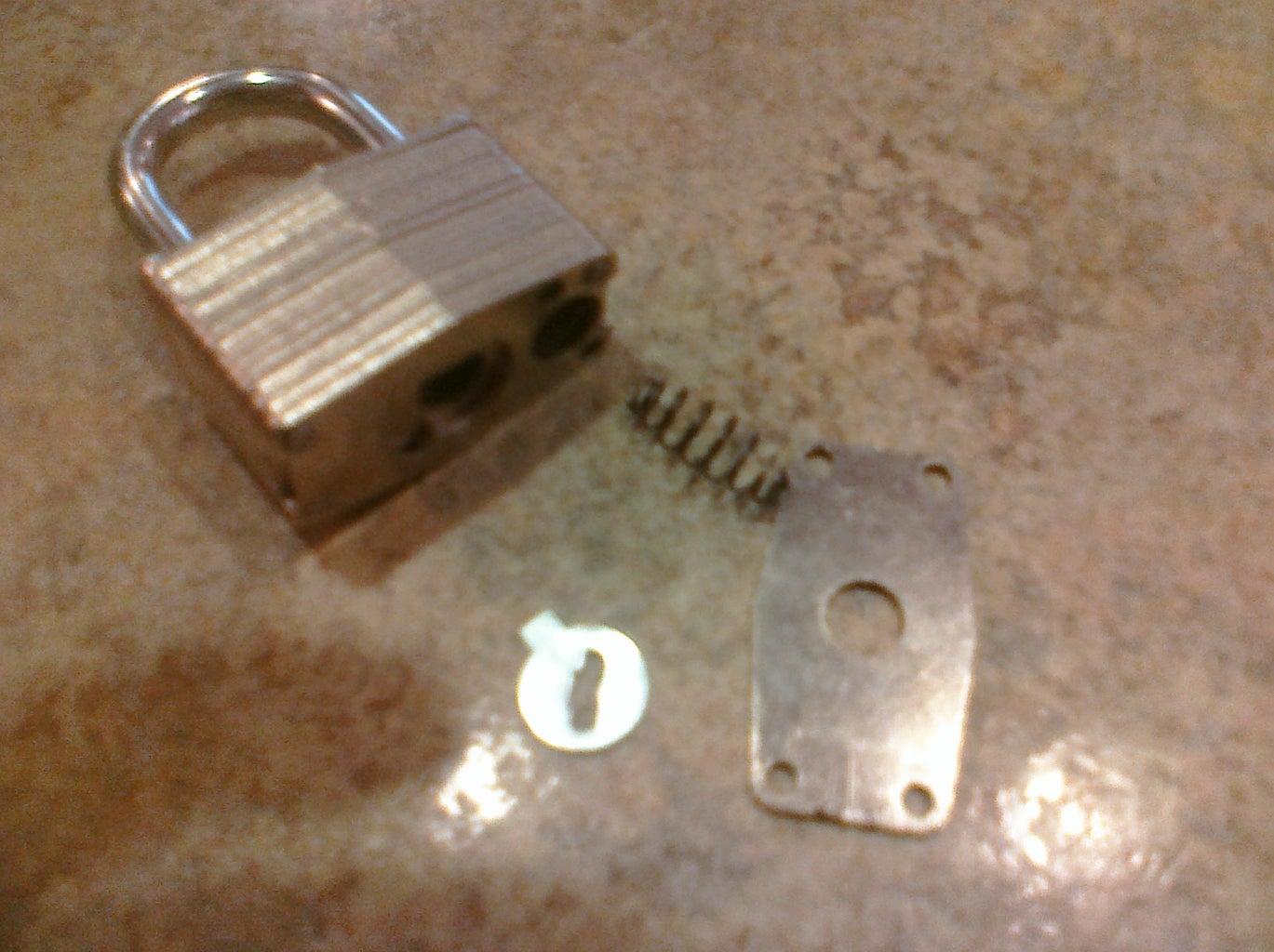 Dissassemble the Lock