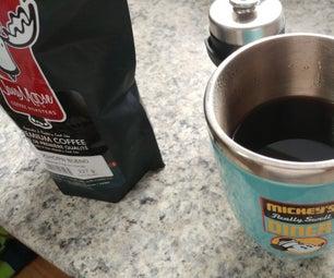 机身咖啡(倒置方法)