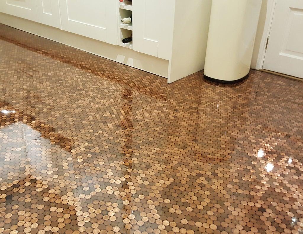DIY Designer Epoxy Resin Floor  9 Steps with Pictures ...