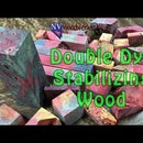 How to Double Dye Stabilize Wood for Pen Blanks, Knife Scales and More!