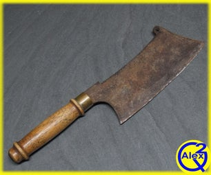 How to Restore an Old Rusty Cleaver