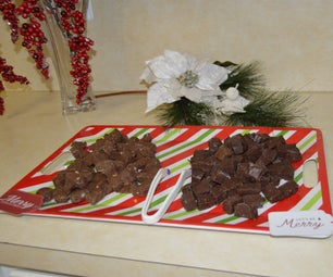 Super Quick and Easy Fudge for Christmas