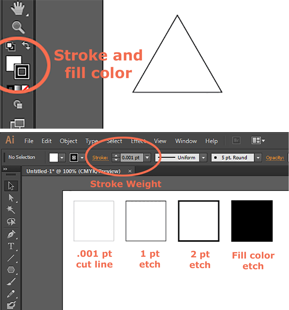 How to Create a Laser Cut File in Illustrator : 5 Steps