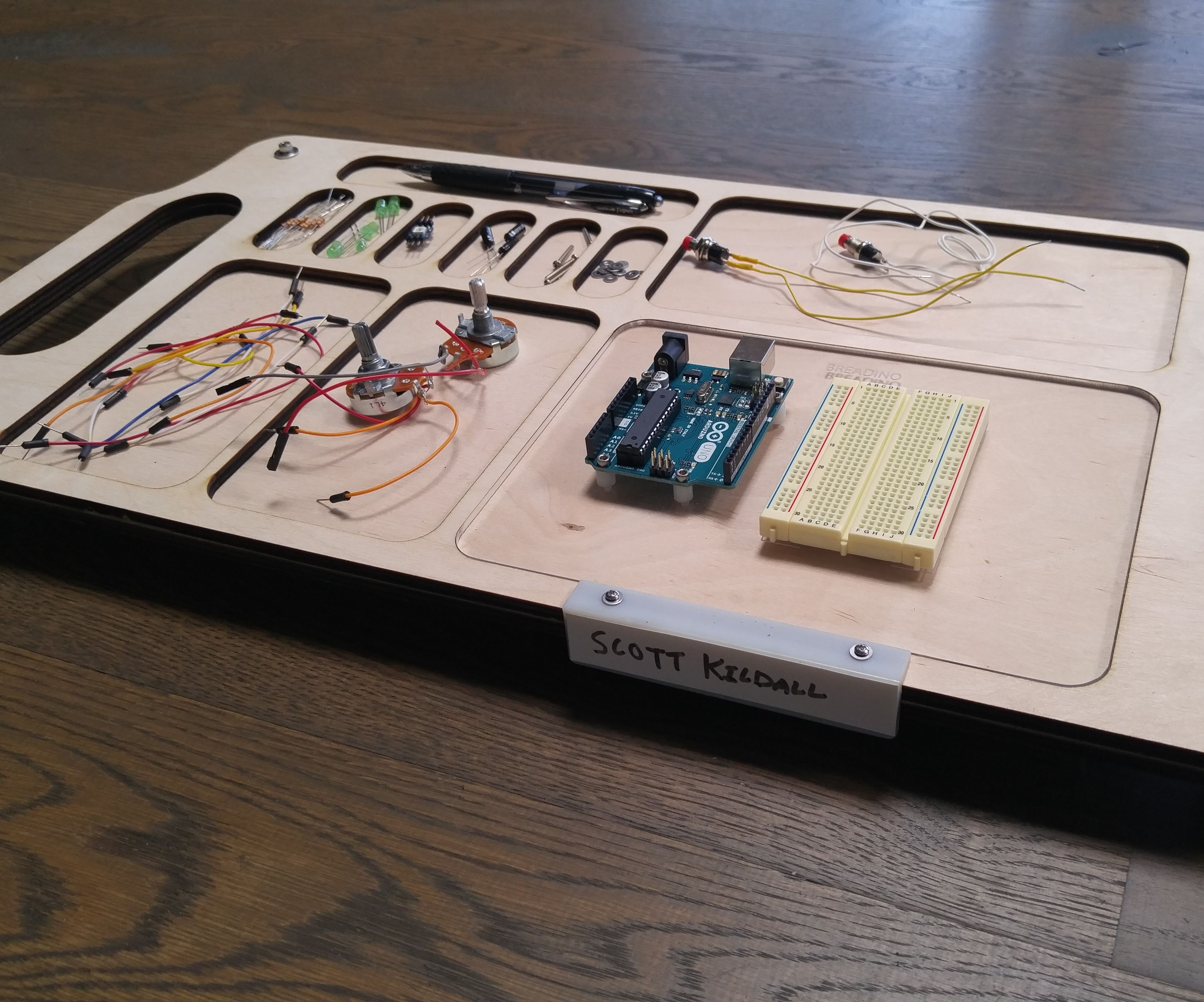 Electronics Project Trays