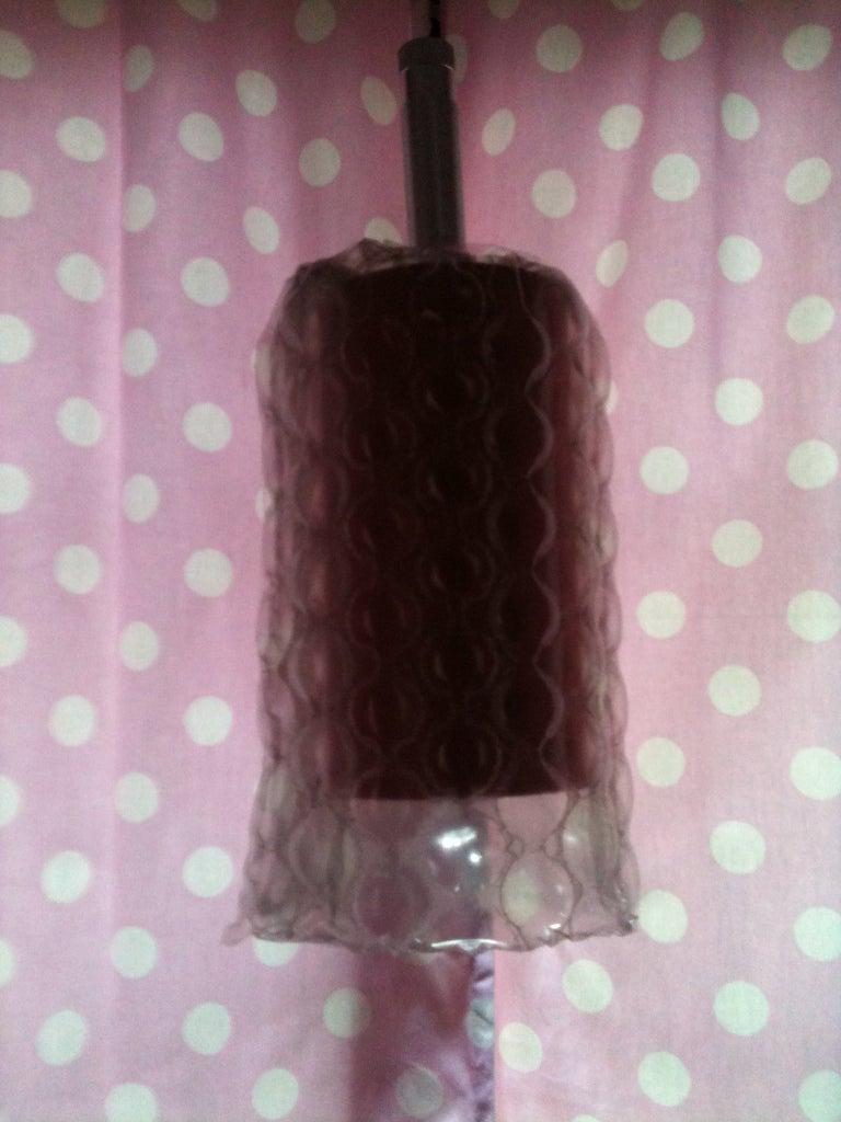 Bubble Wrap 60's Lamp
