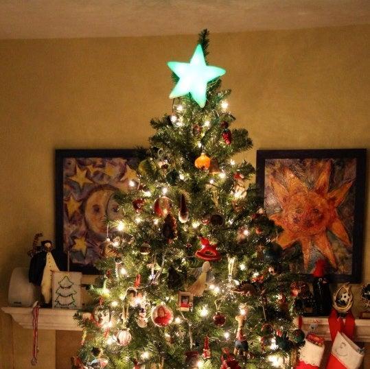Color Changing Christmas Star