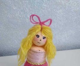 Simple Yarn Doll