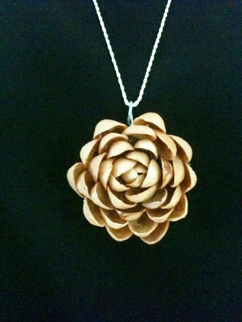 Pistachio Medallion/Pendant