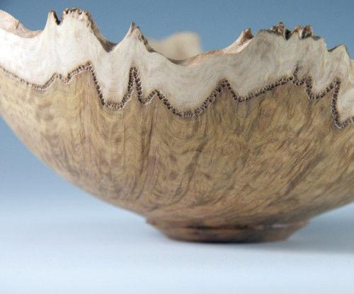 Turning & Carving a Burl Bowl