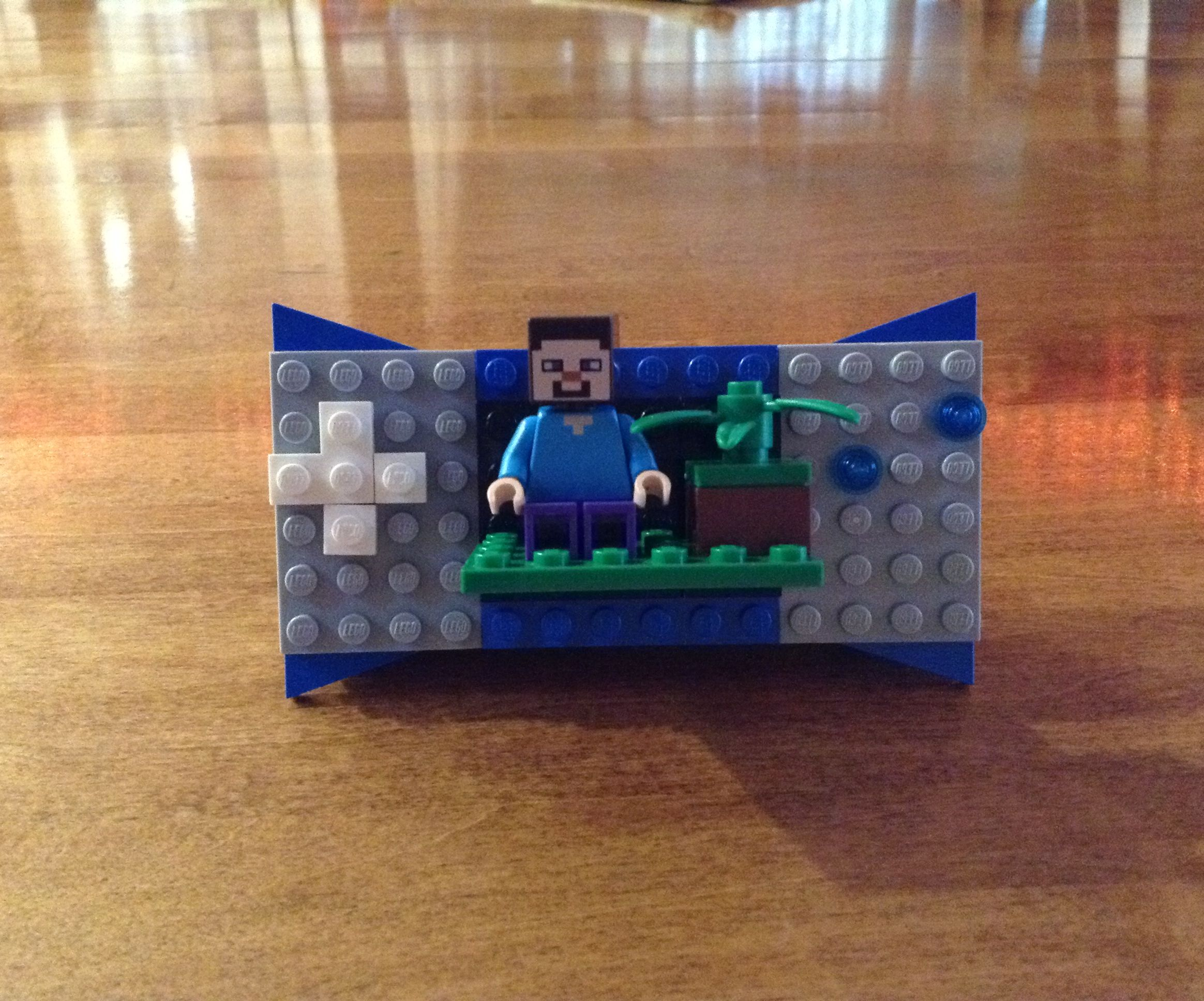 How to Make a Lego Game System Replica Look 3D!