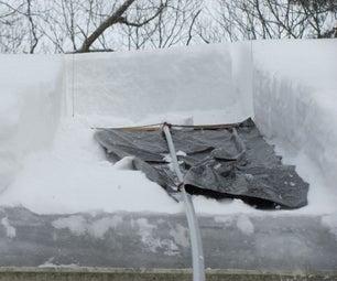 屋顶雪拆卸工具