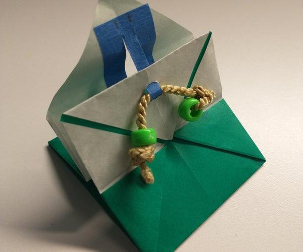 拼图锁纸盒
