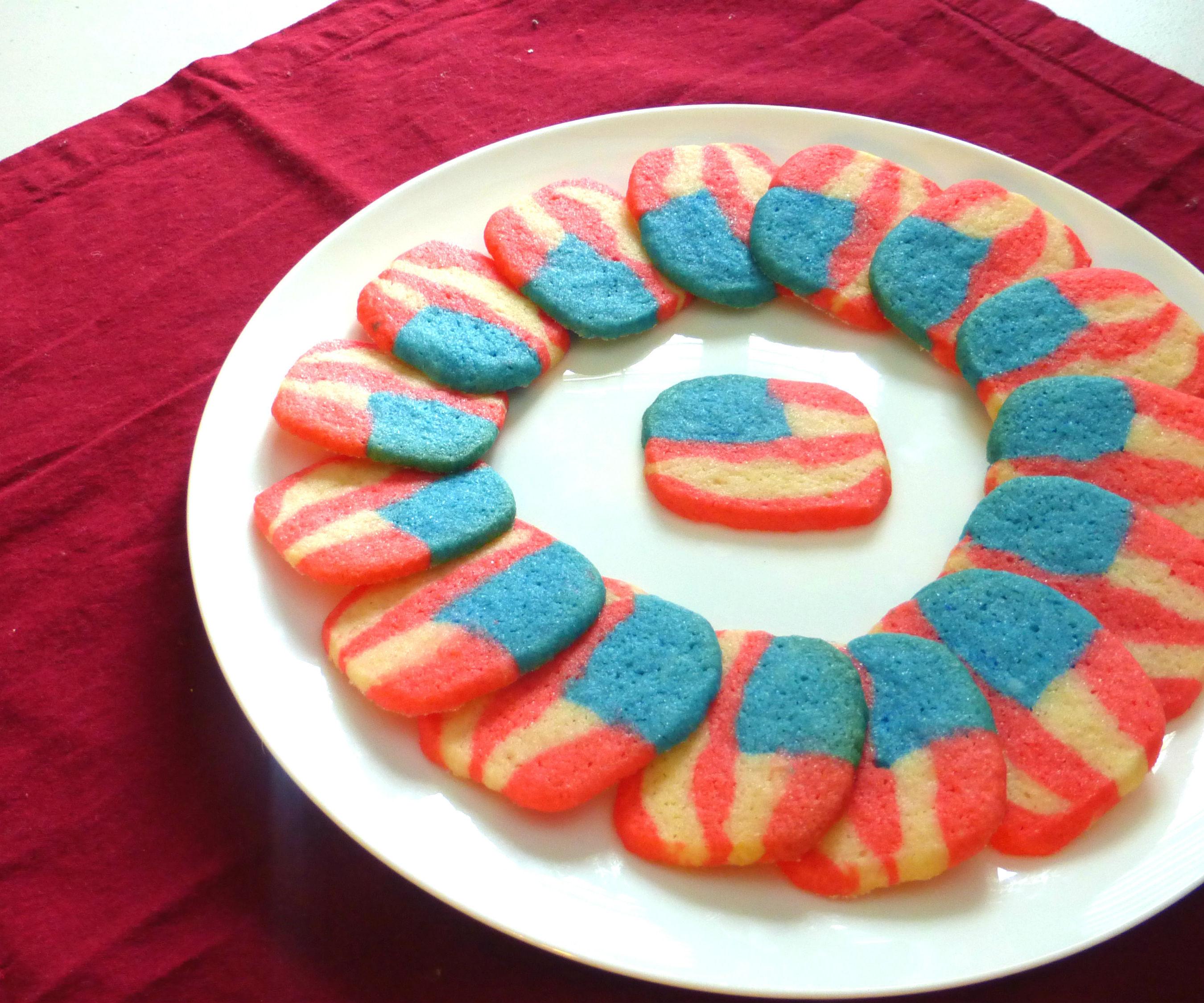 American Flag Cookies   Josh Pan