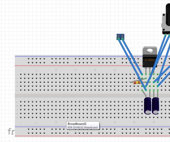 Adjustable Voltage Regulator 317T