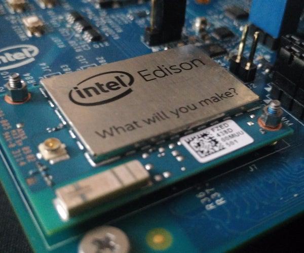Intel Edison: BLE Controlled Lights