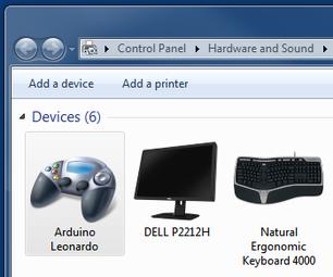 Arduino Leonardo/Micro As Game Controller/Joystick