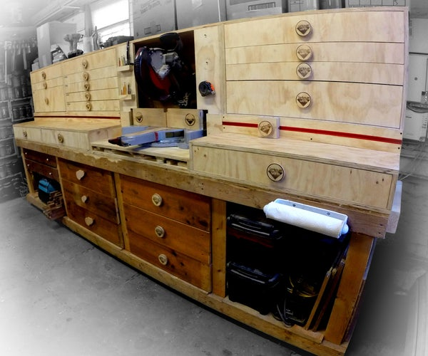 Modular Miter Saw Station - Ultimate Shop Storage