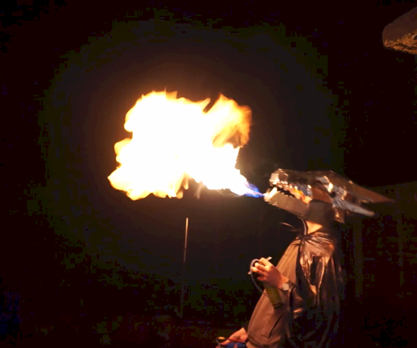 How NOT to Build a Fire Breathing Dragon Mask
