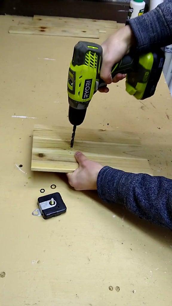 Installing the Clock Mechanism