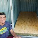 No Measure DIY Shed Floor