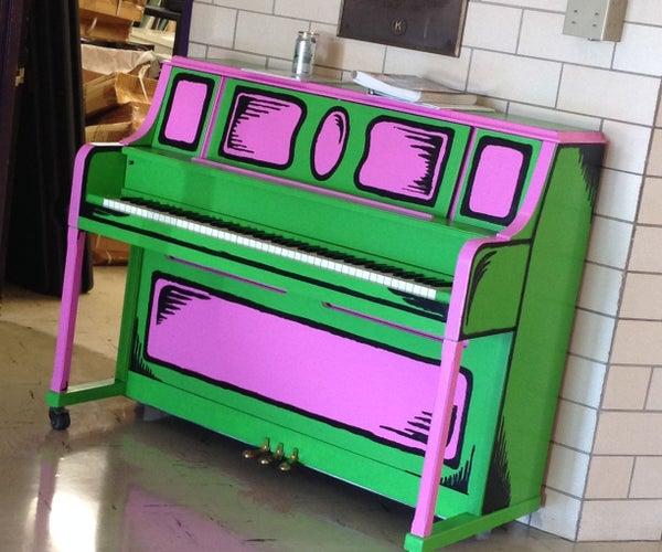 Paint a Cartoon Piano