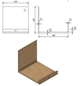 Enclosure MDF Panels
