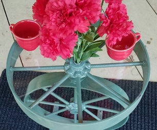 Repurpose Old Wheels Into an Awesome Spinning Table!