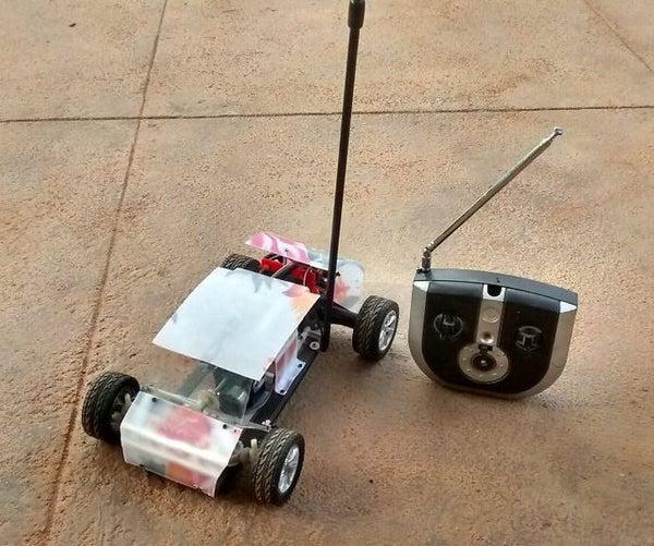Homemade RC Car..!