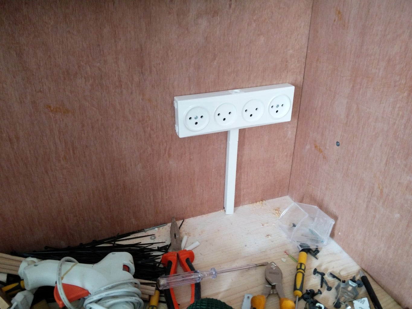 Create a Power Outlet Strip