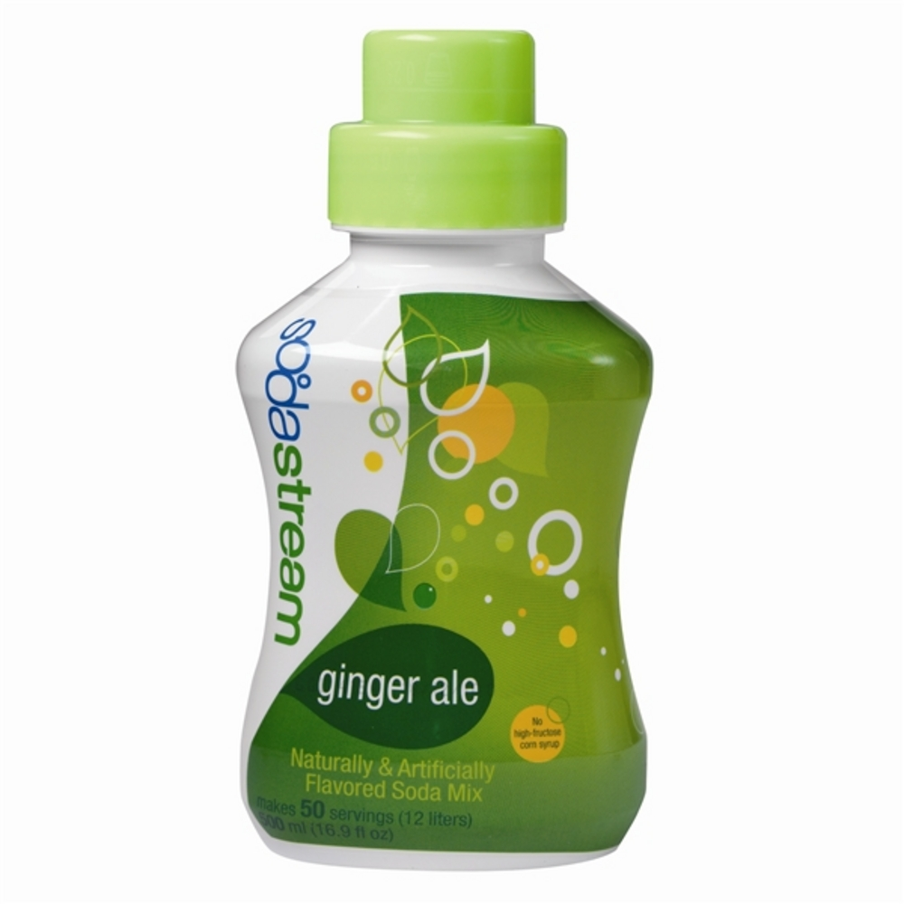 Ginger Ale Soda Stream Syrup!