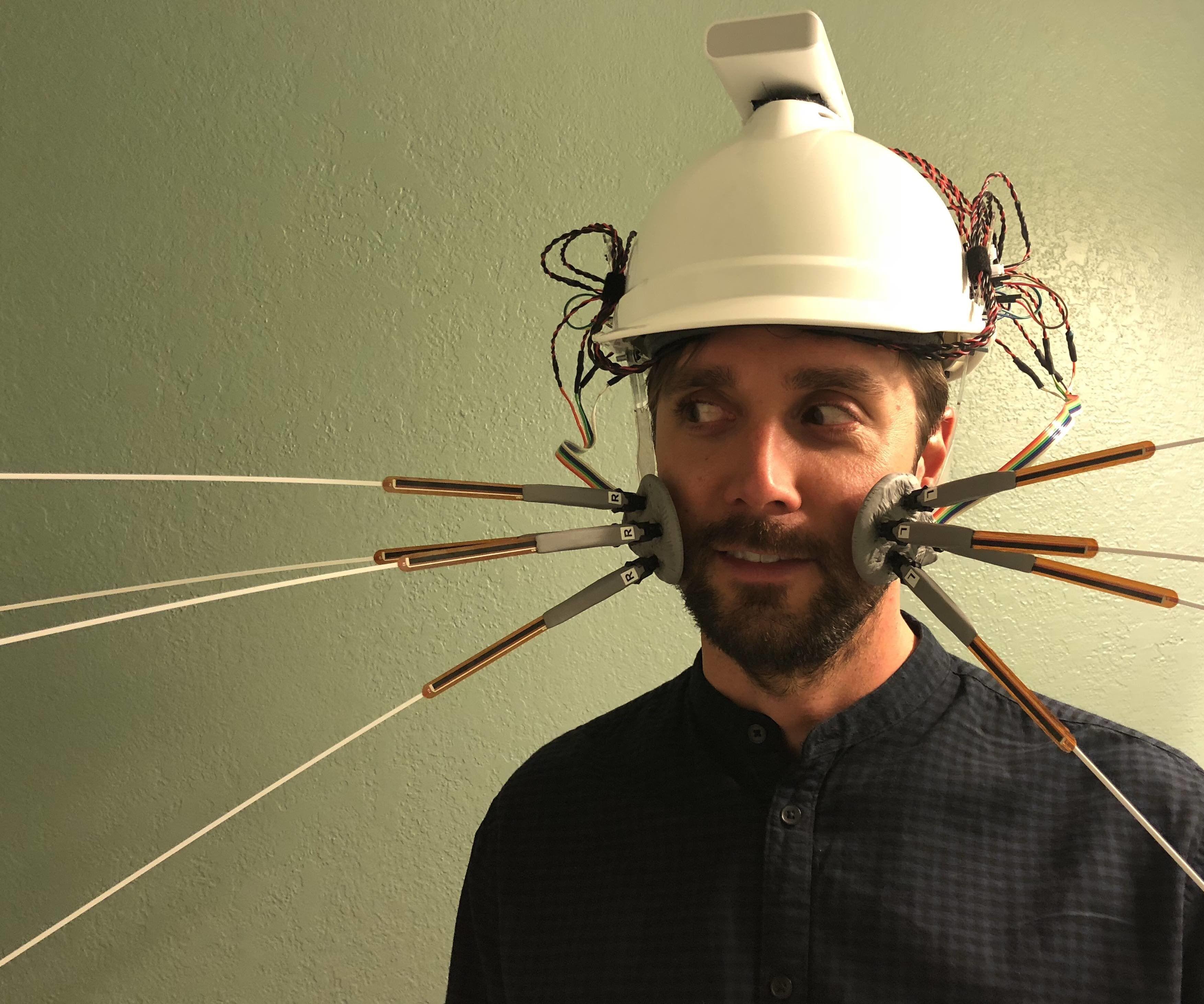 Whisker Sensory Extension Wearable