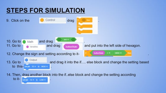 Steps for Simulation