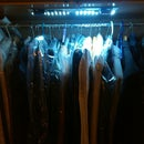 The easiest way to make  wardrobe lights