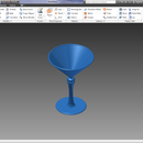 Autodesk Inventor Professional 2013 Basic Wine Glass Tutorial