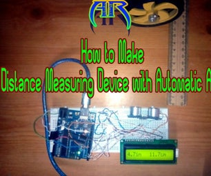 Distance Measuring Device With Automatic Alarm