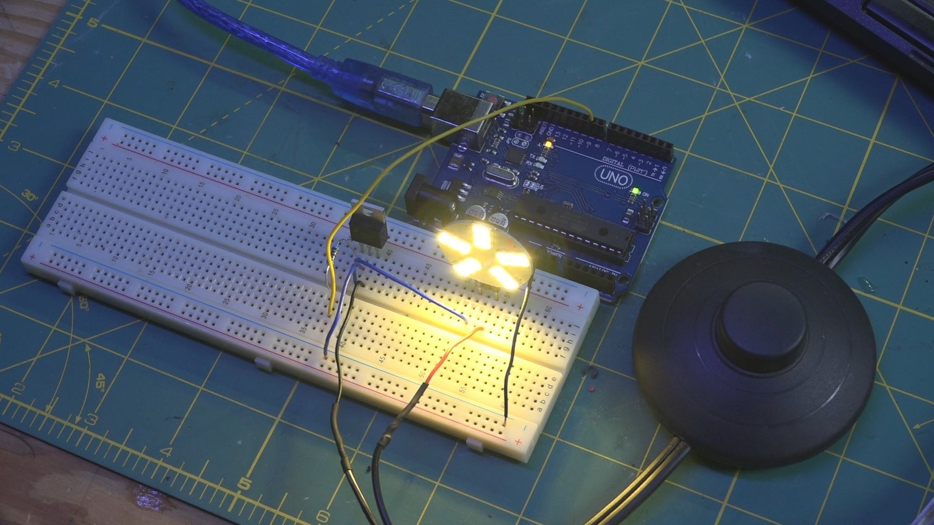 Building the Electronics & Setting Up Arduino
