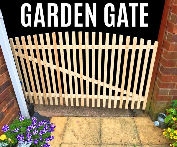 How to Make a Garden Gate